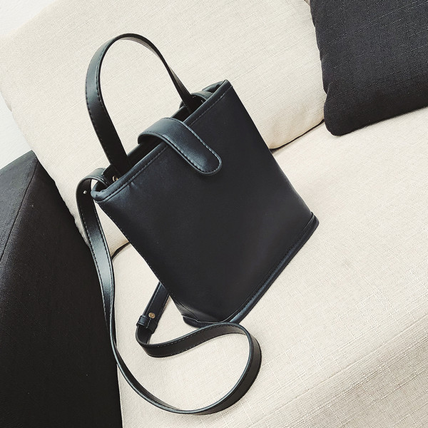 New Fashion Women Pu Leather Totes Briefcase Shoulder Bag Messenger Business Bag Preppy Style Cross Body Bags