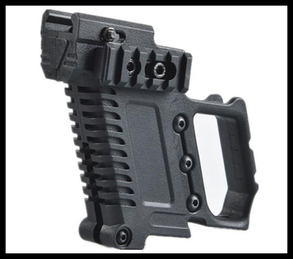 Cargador táctico con soporte de extensión, pistolera multifunción, empuñaduras tácticas para accesorios GL para G17 G18 G19