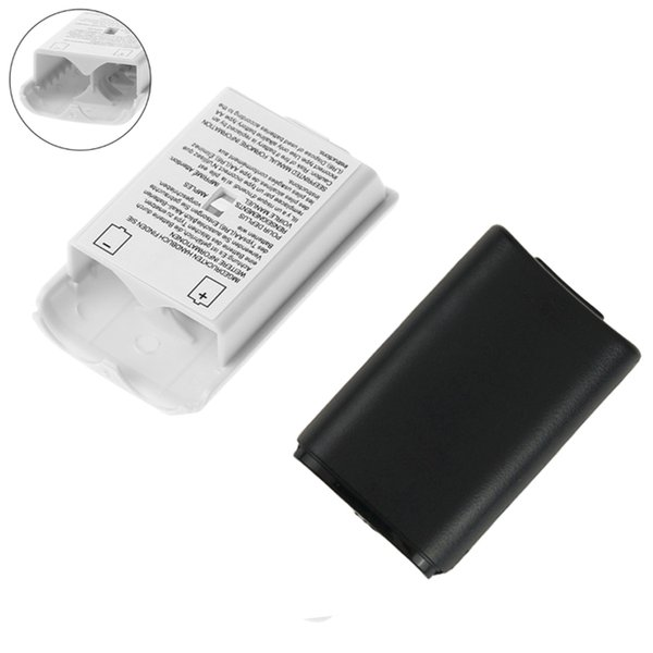 Battery Pack Cover Shell Shield Case Kit for Xbox 360 Wireless Controller Repair Part