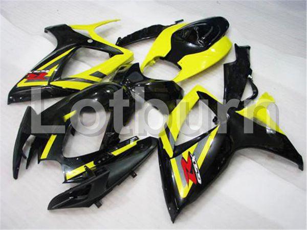 Plastic Fairing Kit Fit For Suzuki GSXR GSX-R 600 750 GSXR600 GSXR750 2006 2007 K6 06 07 Fairings Set Custom Made Motorcycle Bodywork A317
