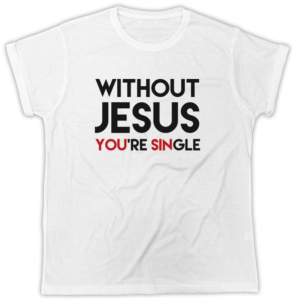 Jesus Cristo Camiseta Cristã Religião DEUS Bíblia Evangelho Mens Womens T-Shirt Preço Barato 100% Algodão Camisetas