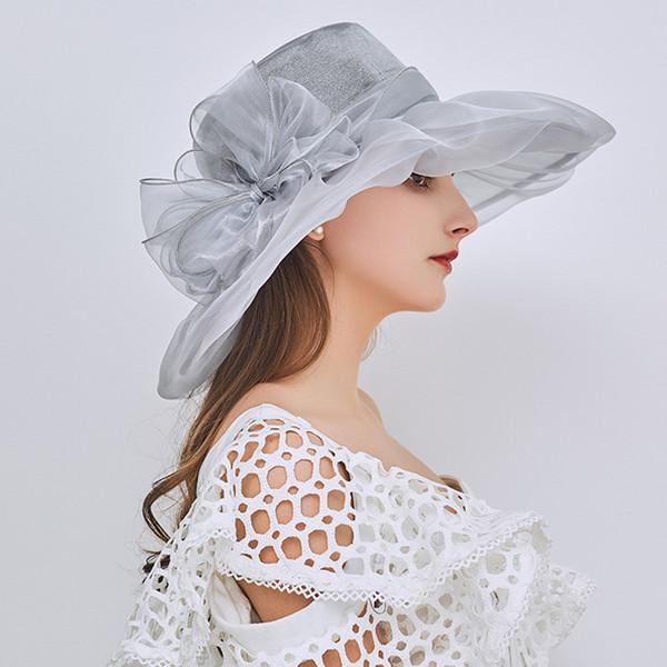 Compre aetrends 2018 Nuevo Vintage Elegante Capas Dobles Sombreros ...