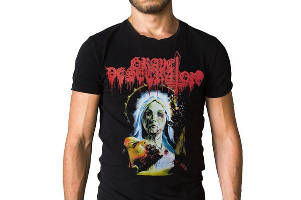 Sepultura Profanador Insulto 2011 Capa Do Álbum T-Shirt de Alta Qualidade Personalizado Impresso Tops Tees Hipster T-Shirt