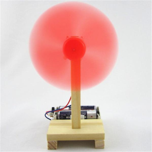 Science Technologie Fabrication Petite invention Simple petit ventilateur électrique Manuel d'expérience physique Assemblage de matériaux