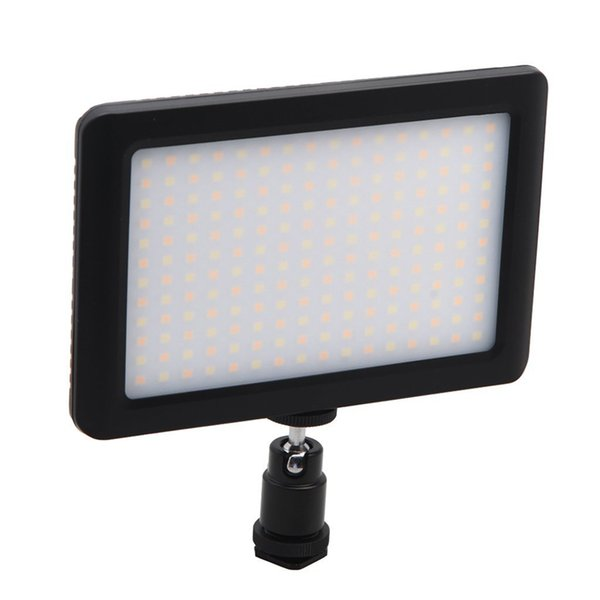 PAD-192 Mini LED Video Light Lamp Photographic Lighting With Hot Shoes For Canon Nikon Sony Camcorder DV DSLR Camera Flash