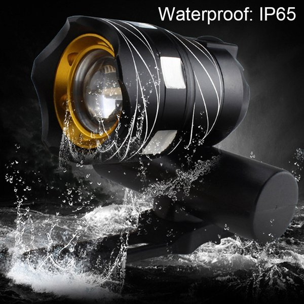 CREE XML T6 LED Bicycle Light Bike Front Lamp Outdoor Zoomable Torch Headlight USB Rechargeable Built-in Battery 15000LM