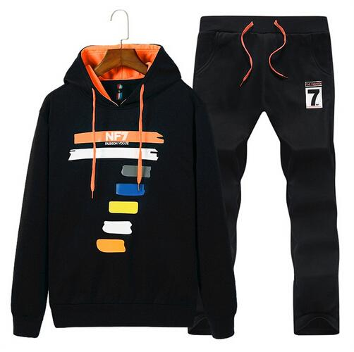 fast delivery classic styles best deals on 2019 2018 Brand Warm Sporting Suit Men Winter Cotton Clothes Hooded Polo  Sweat Suits Men Sets Track Tracksuit Sportswear Survetement From  Daguanyuan, ...