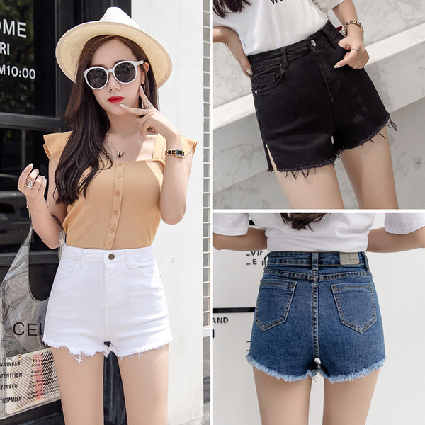2019 2018 Casual Wild Temperament Fashion Hairy Jeans Women High Waisted  Skinny High Waist Jeans Women White Black Blue From Crutchline, $47.74 | ...