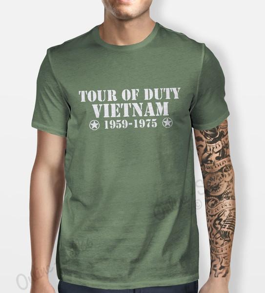 Tour Of Vietnam Tshirt Mens Womens Shirt Tee Service Hipster Camo War Army Duty Cool Casual pride t shirt men Unisex