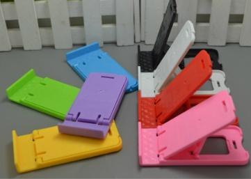 Soporte para teléfono celular Multifuncional Soportes para teléfono plegables Soportes de plástico de color sólido Fábrica barata DHL 348