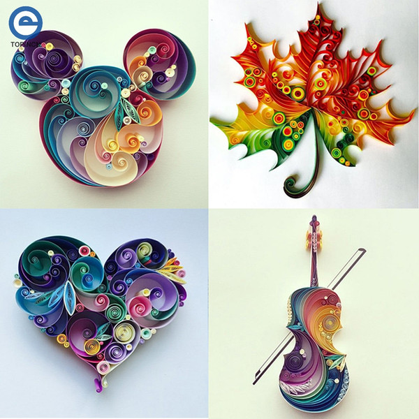 craft 6 In 1 DIY Quilled Creation Craft Paper Scrapbook Quilling Tools Set Crafts And Scrapbooking For Party Gift Decoration
