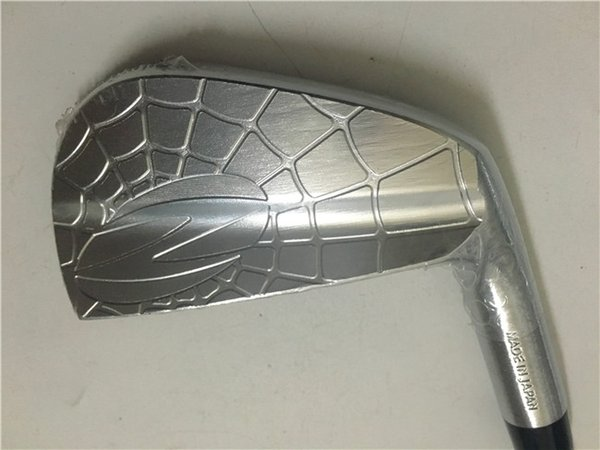 7PCS ZODIA SPIDER Iron Set Silver ZODIA SPIDER Golf Forged Irons Golf Clubs 4-9P R/S Flex Steel Shaft With Head Cover