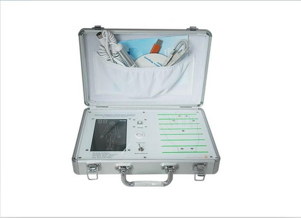 DHL free shipping 4th generation quantum resonance magnetic analyzer with 48 reports full body health scanner analyzer