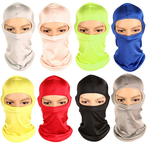 Hot Sale New Outdoor Sports Motorcycle Ski Cycling Mask Running Hat Bandana Wind-proof Sunscreen Dust-proof CS Face Masked Hood Caps