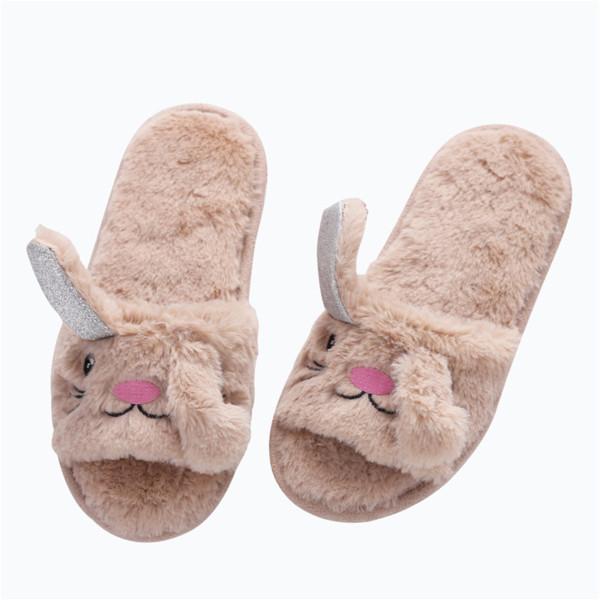 Großhandel 2018 Neue Nordic Cartoon Unicorn Plüsch Schuhe Indoor Rutschfeste Boden Schuhe Klimaanlage Schleppseil Baumwolle Hausschuhe Von Vanilla13,