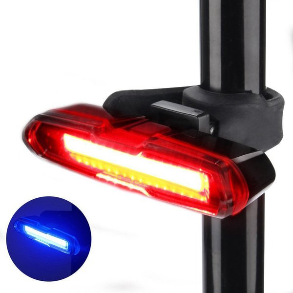 Bicycle Accessories Bike  Headlamp Laser LED USB Rechargeable Bicycle Bike Rear Tail Light 5 Modes