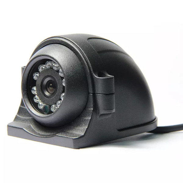 12-24V 4 Pin Metal IR Night Vision IP67 Car Rear / Side / Front View Reverse Backup Duty Camera for Bus Truck Van