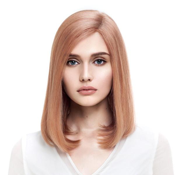 Kabell Perücken Ukraine's Human Hair 150% Dichte Pure Light Farbe Volle Spitzeperücken Mit Dem Babyhaar Gebleichte Knoten Freier Teil Glattes Haar