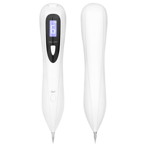 LCD Display Laser Mole Removal Tool Laser Plasma Pen Spot Remover Freckle Tattoo Removal Pen Wart Removal Machine Skin Care