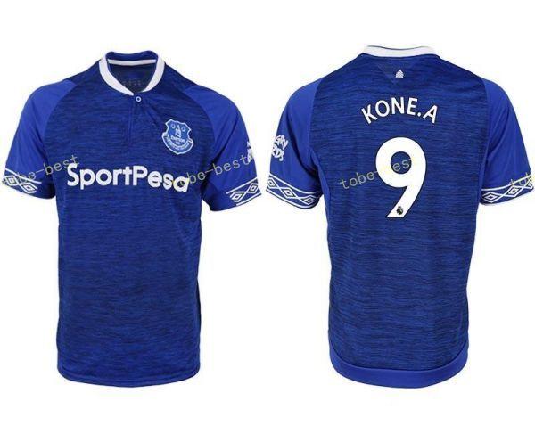 2018 2019 FC Everton Jersey Homens de Futebol 3 BAINES 6 JAGIELKA 11  WALCOTT 14 CENK TOSUN GUEYE Kits de Camisa De Futebol Premier League Patch 4da1b6dae