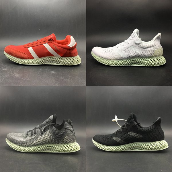 Without Box Brand New AlphaEdge 4D Runner Futurecraft LTD Print Technology Running Shoes Designer Sport Sneaker Grey Black White Red