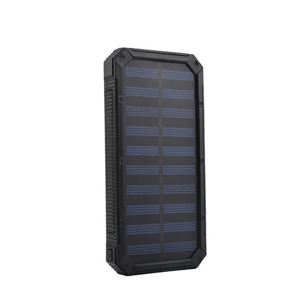 Solar Power Bank 20000mAh 2 USB Powerbank Portable External Battery poverbank Mobile Phone Charger for iPhone Xiaomi