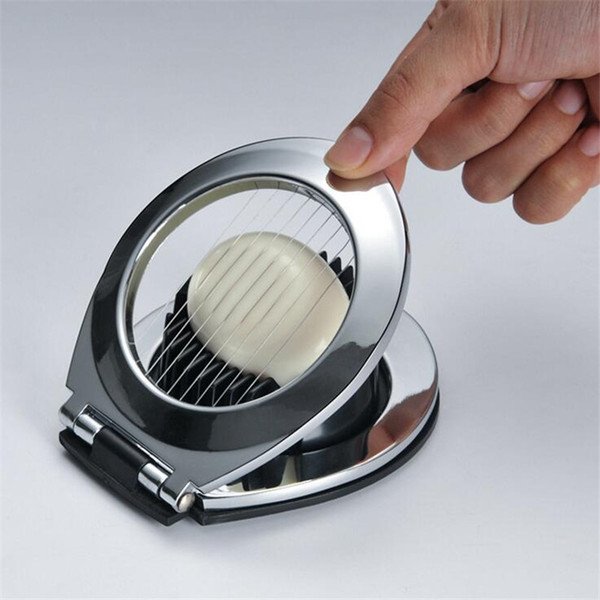High Quality Stainless Steel Egg Slicer Section Cutter Mushroom Tomato Cutter Multifunction Kitchen Tool House Accessories