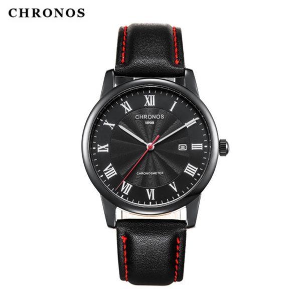 Relojes al por mayor para hombres Deporte Moda Calendario romano Reloj de pulsera de cuarzo Reloj deportivo de lujo Reloj militar Reloj original de Japón