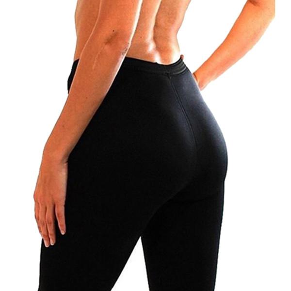 MYLEY Para Mujer Pantalones Adelgazantes Termo Neopreno Sudor Sauna Body Shapers Gimnasio Estiramiento Control Bragas Burne Cintura Pantalones Delgados