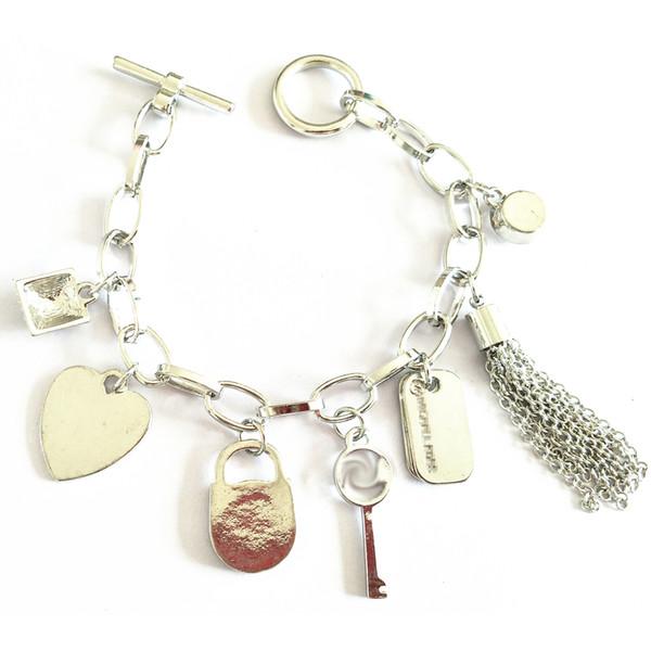 3 colori famosi marchi lega nappa strass blocco bracciali gioielli di lusso designer donne bracciali braccialetto bracciali amore braccialetto