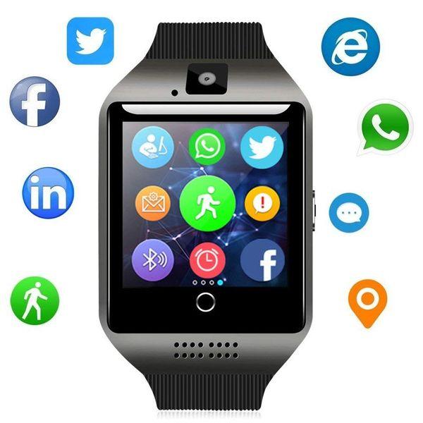 Bluetooth Smart Watch - WJPILIS Touch Screen Smartwatch Smart Wrist Watch Phone Fitness Tracker With