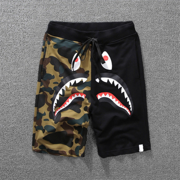 Casual Designer Shorts Summer Mens Shorts Skateboard Shorts Cotton Blend Size M-2XL Knee Length 3Color Closure Type Drawstring Mid Waist