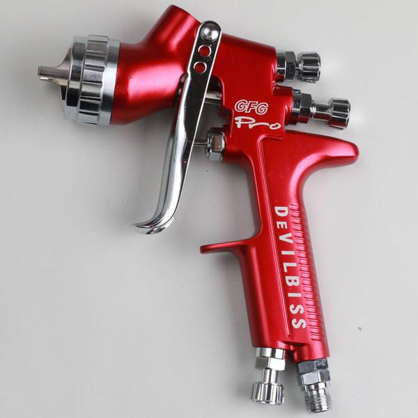 Bocal GFG Pro 1.3mm pistola profissional pistola de pintura do carro, pintado de alta eficiência, boa atomização