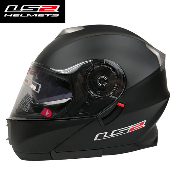 LS2 FF318 Flip Up Motorradhelm komplett herausnehmbare waschbare Polsterung Motorradrennen Helme Mann Frau Anzug ECE genehmigt