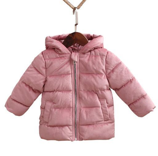 Children Winter Coats 2018 New Jackets Baby Girls Boys Coats Fashion Corduroy Girls Parka Thick Warm Kids Outerwear