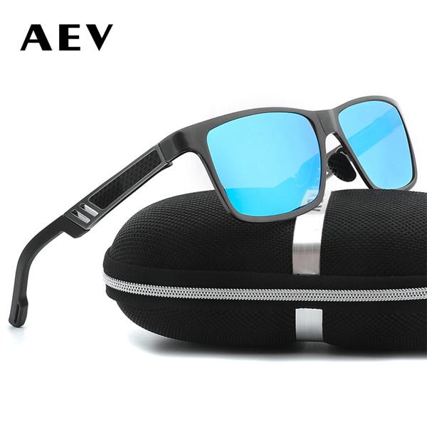 AEV Praça dos homens de Alumínio Magnésio Polarizada HD Óculos De Sol Para  O Homem Óculos 8954e98a77