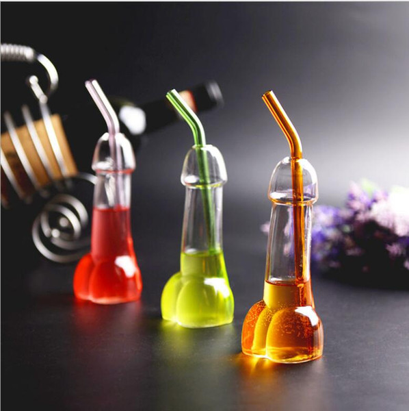 Vampire Wine Glass cup Vampire Devil Wine Glass With Tube Straw Xmas creative fashion Simple design style Spoof glass free shopping !