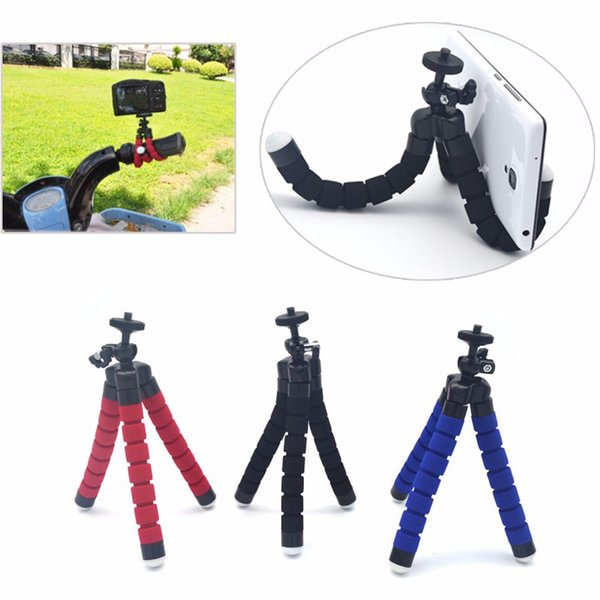 Flexible Octopus Digital Camera Tripod Holder Universal Mount Bracket Stand Display Support For Cell Phone Accessories DHL
