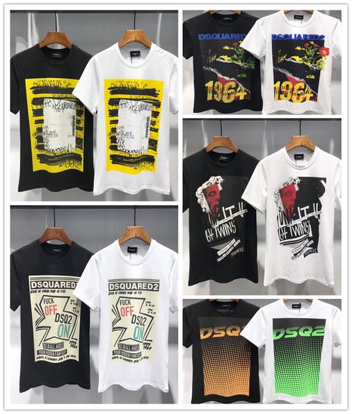 Frühling und Sommer 2019 neuestes Art T-Shirt, Freizeit T-Shirt der Männer, Marken-Qualitätsfreizeit T-Shirt DT382