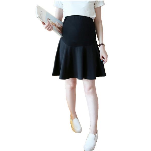 New Sexy maternità gonna per le donne incinte coreano moda breve mini gonna gravidanza femminile abbigliamento bottoms