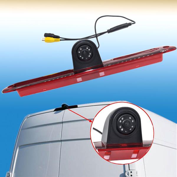 Auto Wayfeng WF Brand New CCD Car Reversing Rear Camera LED Brake Light For Mercedes /Sprinter /VW /Crafter