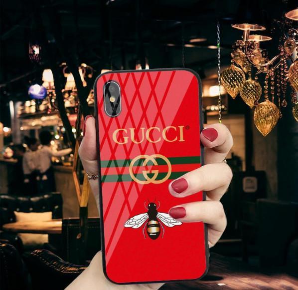 Popular logo X mobile phone case iP8p glass letters web celebrity same model 7plus couples 8x Korean 6p manufacturer direct sale
