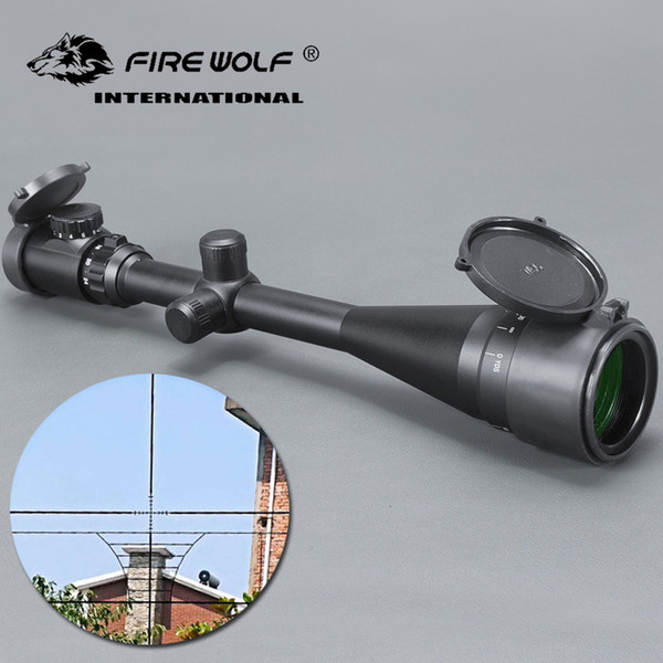 6-24X50 AOEG Riflescope Hunting Optics Hunting Scope Adjustable Light Reticle Tactical Scope with 20 11mm Rails