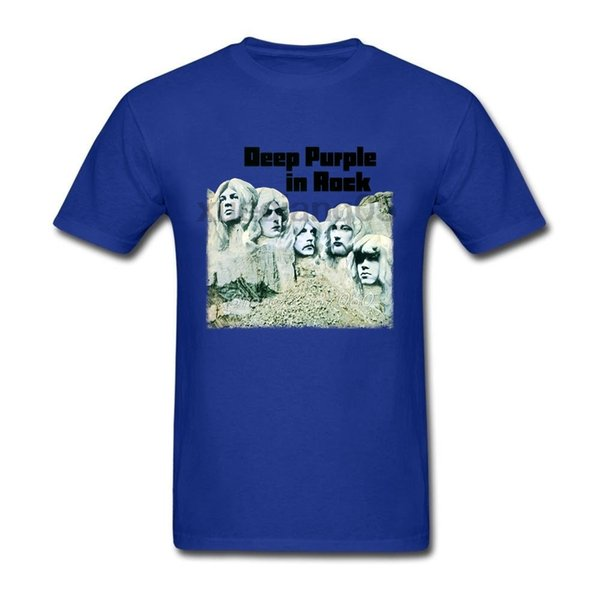 Deep Purple Band England Music Rock T Shirt Big Size Custom Short Sleeve Clothes Hip Hop Car Styling Cotton Funny T-shirts