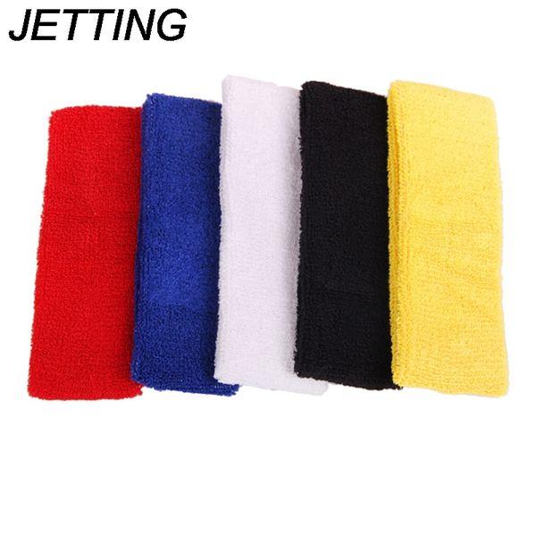 HOT Outdoor Sports Ball Games Tennis Sweatbands Forehead Head Hair Sweat Band Elastic Cloth Cotton GYM Yoga Fitness HeadBand