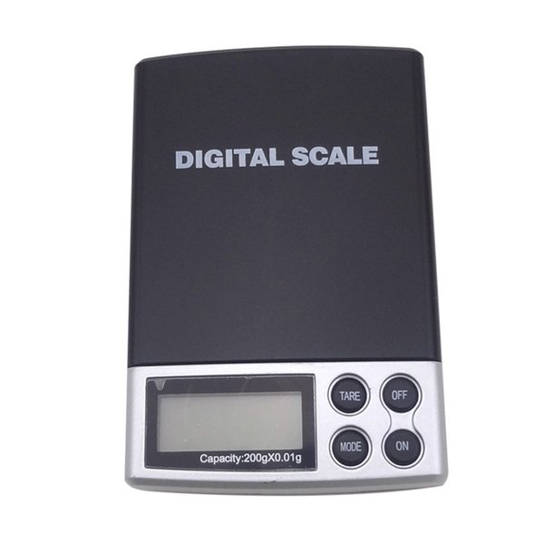 Portable Mini 2000gx0.1g Pocket Electronic Digital Jewelry Scale, Weighing Kitchen Scales Grams Balance LCD Display Hot Sale