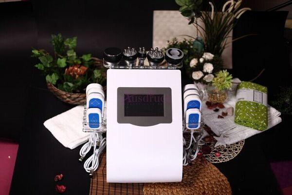 HOT SELLING!! Professional Lipo Laser Slimming machine 40K Cavitation Ultrasonic Vacuum RF Multipolar Weight loss Skin Care Equipment