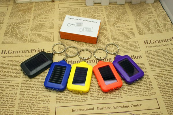 Hot sell mini explosion LED flashlight 19 g the solar key chain flashlight with you a little light