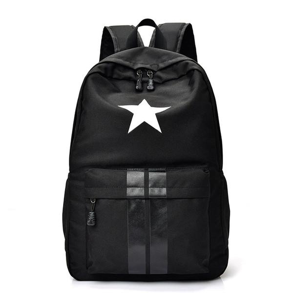 New Casual Women men Laptop Backpack Waterproof Nylon Women's Youth Printing Schoolbag bagpack portfolio school for teenagers