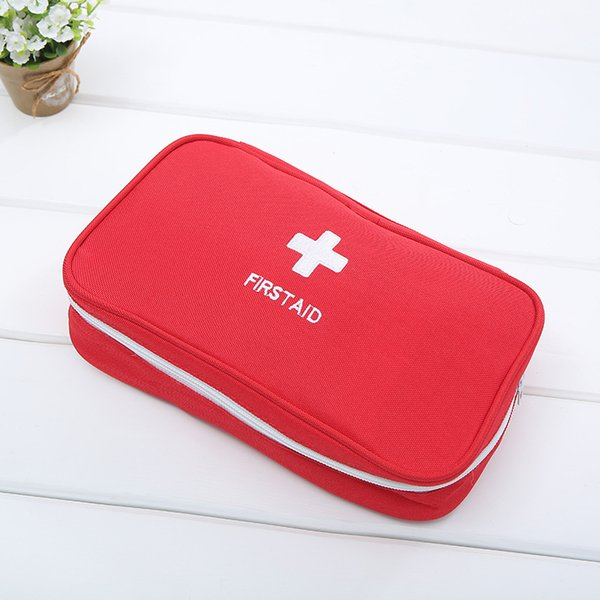 Portable First Aid Kit Rescue Bag Emergency Medical Bag Portable Canvas Empty Camping First Aid Travel Treatment Pack